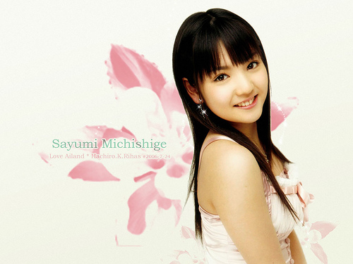 Michishige Sayumi wallpaper | Tchord's Blog